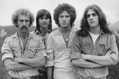 Eagles: Bernie Leadon, Randy Meisner, Don Henley and Glenn Frey.