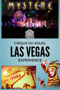 Cirque du Soleil experience - how to get cheap tickets, about the shows, things to see in Las Vegas and useful tips for the trip!
