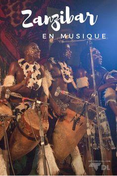 Festival de musique africain en Tanzanie sur l'île paradisiaque de Zanzibar