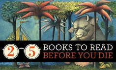 25 Books To Read Before You Die