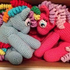 My little pony - med DIY på hæklede øjne