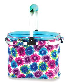 Another great find on #zulily! Blue Blossom Shelby Collapsible Cooler Tote #zulilyfinds