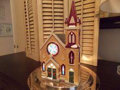 DEPT 56 HOUSES Mount Olivet Church Snow by VintageCreativeAccen