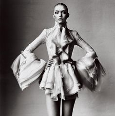 From the moment she arrived on the scene in 2003, Gemma Ward was a sensation–see the model's best moments in Vogue