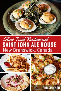 Slow Food and seasonal produce are the highlights of the Saint John Ale House in New Brunswick, Canada. We review this award-winning restaurant in the Port City.