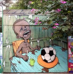 StreetArt Brazil anti world cup 2014-01. Paulo Ito