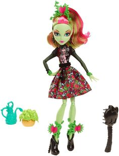 Monster High Gloom and Bloom Venus McFlytrap Doll NEW In Hand Just Released