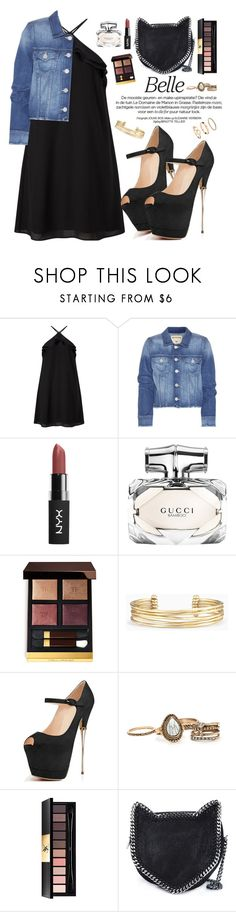 """""""YDN Shoes"""" by oshint ❤ liked on Polyvore featuring Miss Selfridge, True Religion, Gucci, Tom Ford, Stella & Dot, Yves Saint Laurent, STELLA McCARTNEY, shoes and YDNshoes"""