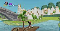 Phineas And Ferb, Disney Infinity, Small World, Main Street, Railroad Tracks, Disneyland, Entrance, Maine, Golf Courses