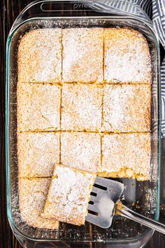 Gooey Butter Cake Recipe {St Louis Classic}- Shugary Sweets Sweets Recipes, Cake Recipes, Fun Recipes, Shugary Sweets, Gooey Butter Cake, Yellow Cake Mixes, Cream Cheese Filling, Good Enough To Eat, Holiday Desserts