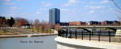 Downtown Columbus OH and the Scioto Mile