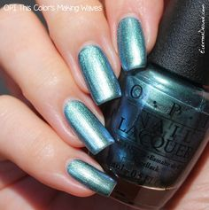 OPI This Color's Making Waves, Hawaii Collection Spring 2015