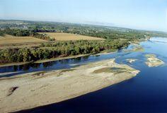 Les bords de la Loire © CRT Centre et Val de Loire - D. Duriez #voyage #france #fleuve #loire #centre #valdeloire
