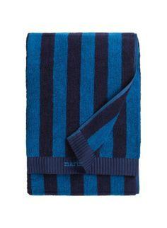 4 badehåndklæder (75x150) og 4 alm. Håndklæder (50x100) i blå, 255/127 kr pr stk