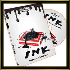 Paul Harris Presents Ink (Gimmick and DVD) by Mickael Chatelain and Paul Harris - DVD Mandoline, Magic Props, Close Up Magic, Magic Supplies, Weird Dreams, Magic Tricks, Sharpie, Playing Cards, Presents