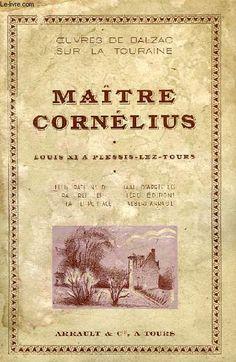 Honoré de Balzac: Maître Cornélius (1831)