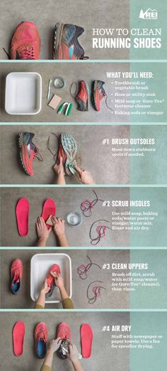 Just exactly how do you clean your shoes?