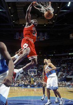 Happy 49th birthday, Michael Jordan! (Photo by US Presswire)