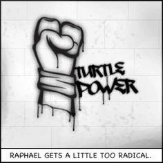 Raphael gets a little too radical #TMNT2012 #TMNT
