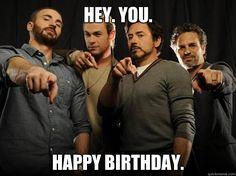 Avengers Happy Birthday meme - Google Search