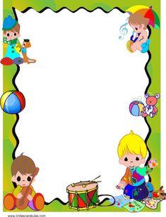 Boarder Designs, Page Borders Design, Kids Background, Wedding Background, School Border, Boarders And Frames, Borders For Paper, Kids Poster, School Frame
