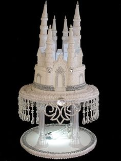Royal Lighted Cinderella Castle Wedding Cake By Foreverfairytale