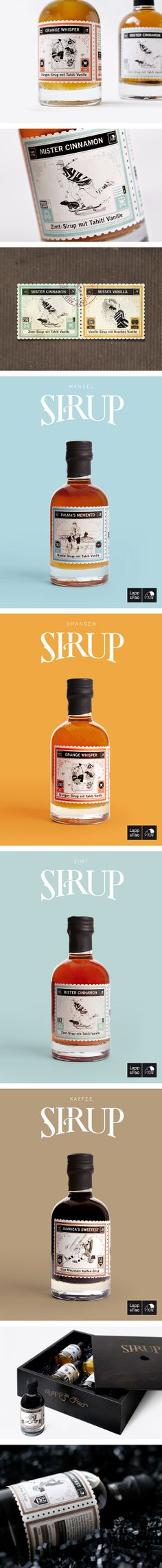 LAPP & FAO Syrup By STUDIO CHAPEAUX