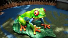 #Iplayco designed, manufactured and installed this frog. Great photo taken and posted on #Flickr. Huge tree frog! | Flickr - Photo Sharing!  www.iplayco.com