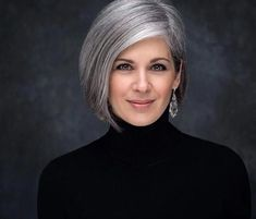 Classy Hairstyles, Older Women Hairstyles, Scene Hairstyles, Hairstyles 2018, Short Hair Cuts For Women, Short Hair Styles, Grey Hair Old, Silver Grey Hair Gray Hairstyles, Human Lace Front Wigs