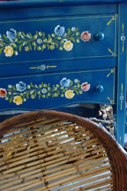 Painted Portugese table, via Traditional Arts and Crafts