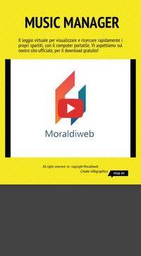 Infographic: Moraldiweb Music Manager