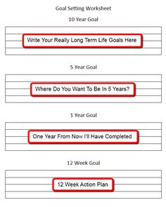 1000 images about goals on pinterest goal setting worksheet goal settings and reaching goals. Black Bedroom Furniture Sets. Home Design Ideas