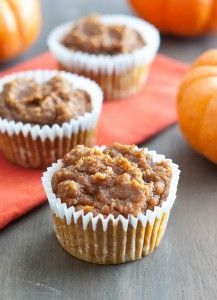 Low Carb Pumpkin Muffins from The Low Carb Diet. Don't these look delicious? These could be a great way to still enjoy a pumpkin treat on Thanksgiving without the carbs and sugar overload. #DeliciouslyHealthyLowCarb #Pumpkin