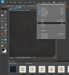 How to snap to easily line items up in Photoshop