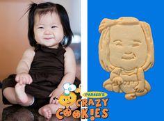 1st Birthday Celebration - Edible Favors - Custom Cookies