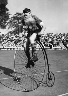 Veterans Cycles Trophy Race At Herne Hill In England On September 10Th 1949