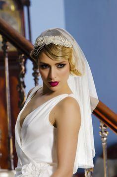 Christmas Wedding Dress Veils