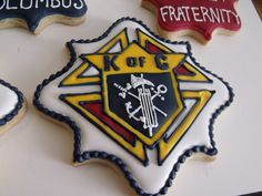 Knights of Columbus Cookies