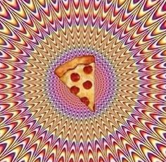 Psychedelic pizza <3 via | Hippies Hope Shop www.hippieshope.com  You love pizza and BakerStone loves you.  #bakerstone #pizzamakesmesmile #thinkinsidethebox