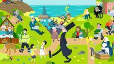 Kan du genkende det? Sådan ser Danmark ud ifølge amerikansk blogger   Kultur   DR Teaching Culture, Kingdom Of Denmark, Family Guy, Illustration, Fictional Characters, Image, Art, Culture, Art Background