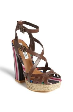 Naughty Monkey 'Aztec' Sandal!  Just the name makes me want these shoes! :)