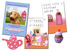 Annemieke schreef twee logopedische prentenboeken. De boeken zijn opgebouwd uit een voorleesverhaal, picto-zinnen die kinderen snel zelf kunnen lezen, liedjes en taaldenkvragen.