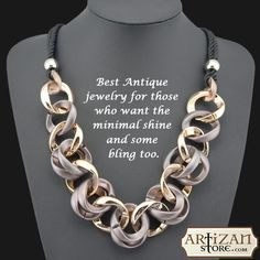 """‪#‎Chocolates‬ and ‪#‎Flowers‬ Die & Get Eaten, But Jewellery is forever"" Buy amazing women Accessories from www.artizanstore.com. Wear this ‪#‎Antique‬ Necklace and look fabulous all day. Get up to 65% off.  ‪#‎Jewellery‬"