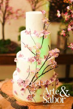 Cerezo Rosa - Cake by Arte y Sabor