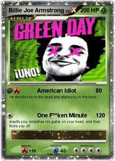 Green Day Band, Green Day Billie Joe, Hello Green, Reds Bbq, Hysterically Funny, The Good German, American Idiot, Billie Joe Armstrong, Grilling Gifts