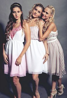 great bridesmaid dress idea...perfect for my summer wedding...and they can wear it again