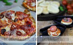 Knusprige Lieblingspizza mit Chorizo & Pizza Raclette