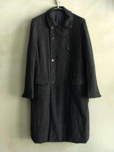 linen tweed coat ...