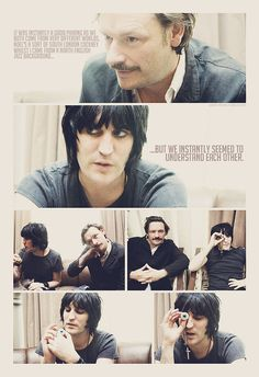 Noel Fielding and Julian Barratt...is this sarcastic, a tad gay or both?  I forgot a lot about English regional stereotypes.