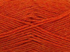 Derby Wool ~ Orange Melange